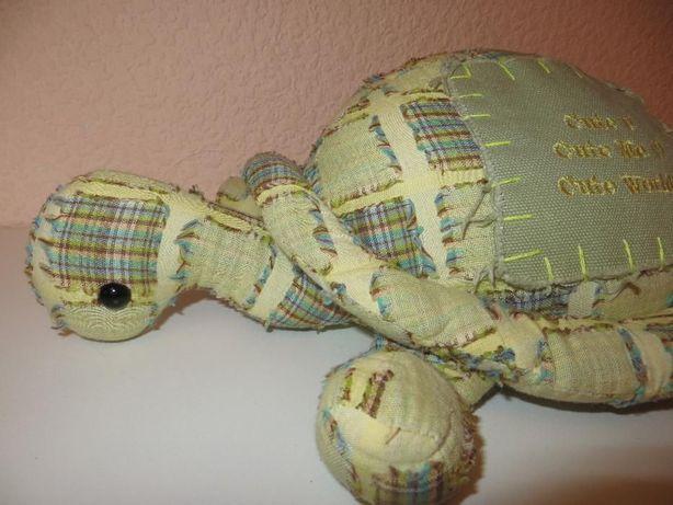 Мягкая игрушка-подушка Черепаха 35 см