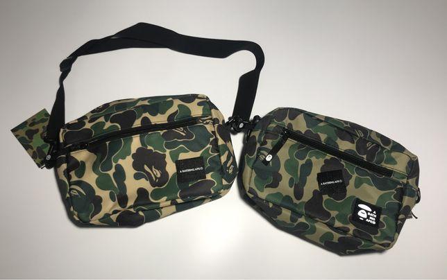 Мессенджер Aape/ сумка через плече/ бананка/ сумка на пояс/ барсетка