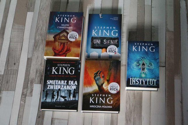 King - Smętarz Dla Zwierzaków - MROCZNA POŁOWA - Instytut - T. Okładka