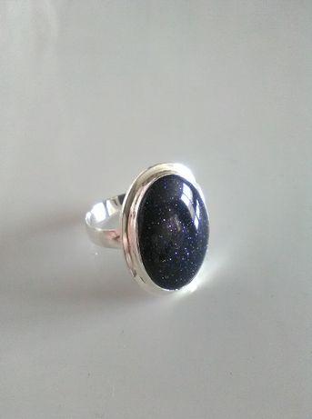 pierścionek srebrny z noc kairu pr925