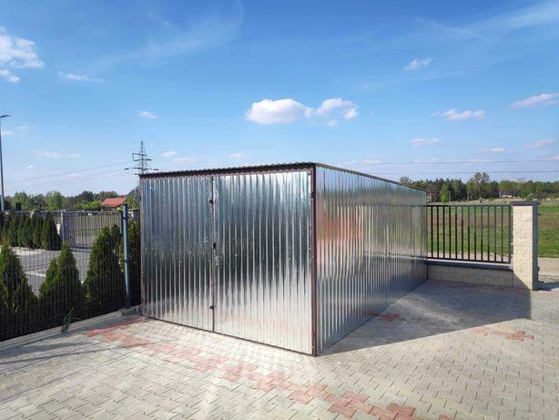 Garaż blaszany 3x5m, dostawa do 7dni, dowóz oraz montaż GRATIS