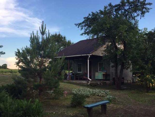 Продам участок с домом в 60 соток, 20 км От Днепра