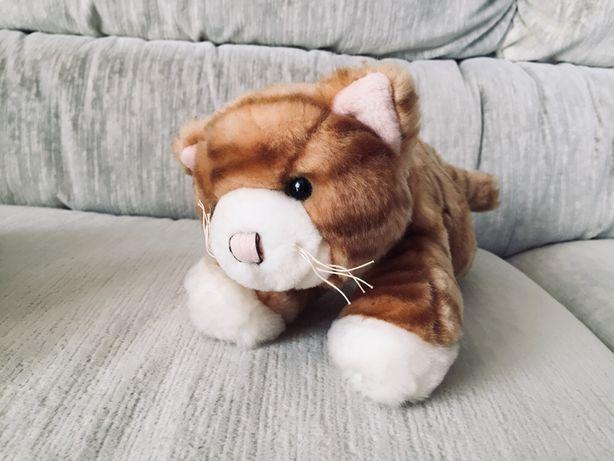 Pluszowy kotek - zabawka dla dziecka, pluszak