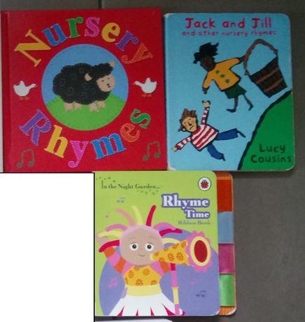 Angielskie książeczki z rymami dla dzieci
