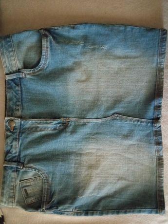 Spódnica mini, stan idealny-nowa, bez metki- rozm.L/XL