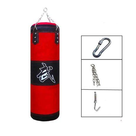 Saco Boxe Muay Thai Karate 100x30 CM  C/Oferta Acessórios 100% NOVO