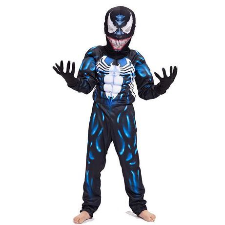 Костюмы Веном Симбиот/Venom/,Марвел, ростовка 110-135см,новые!