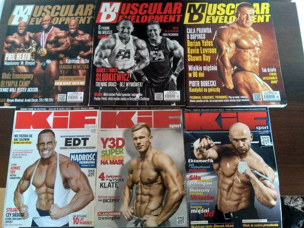 KIF, Muscular Development, Perfect Body -8 gazet, kulturystyka,fitness