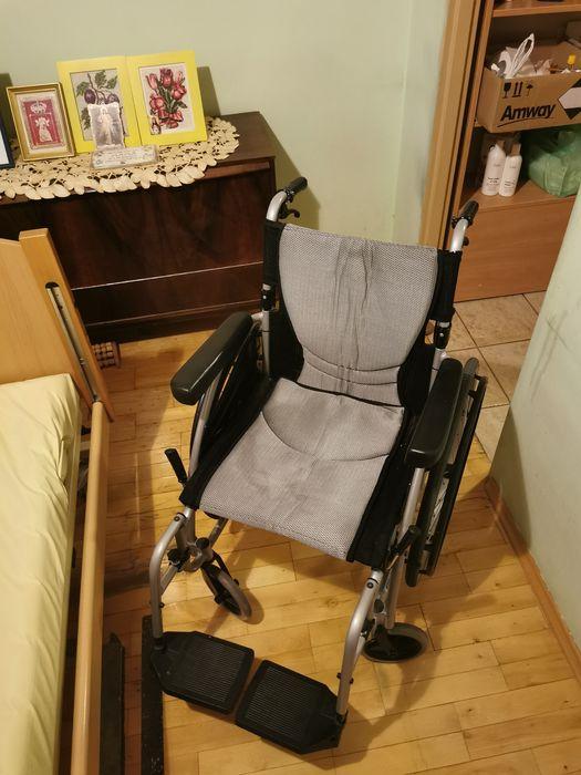Wózek inwalidzki składany KARMA - stan bardzo dobry Kraków - image 1