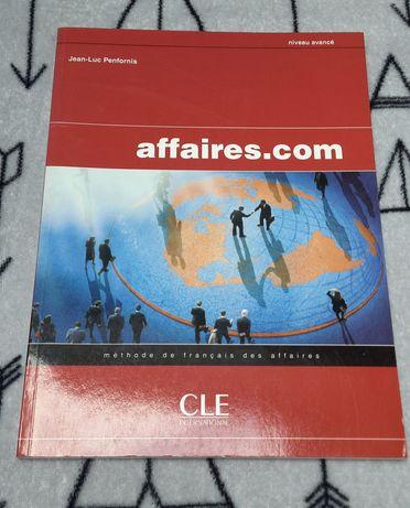 Podręcznik do języka francuskiego affaires.com nowy