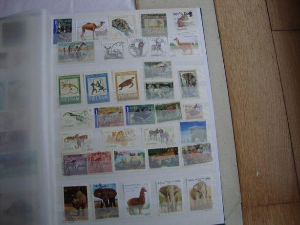 Album de Selos de animais