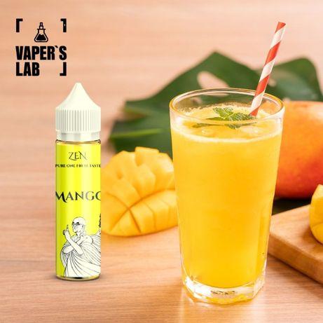Жижка для вейпа Zen Mango, Жидкость для вейпа Zen Orange, Жижа Zen