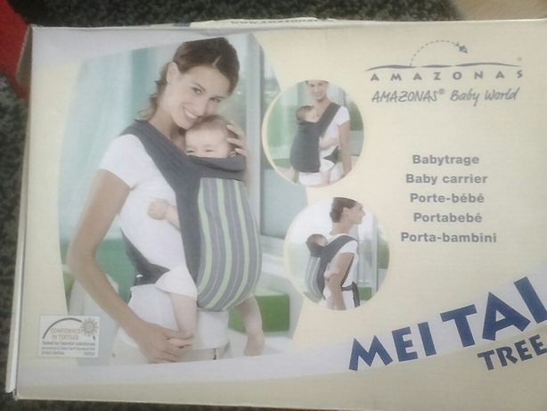 Chusta do noszenia dzieci Amazonas Baby MEI TAI TREE