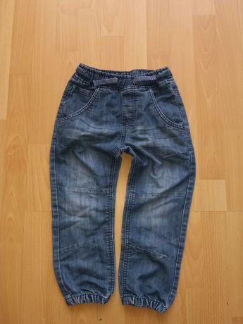 H&m Joggersy rozm.110 miękki jeans