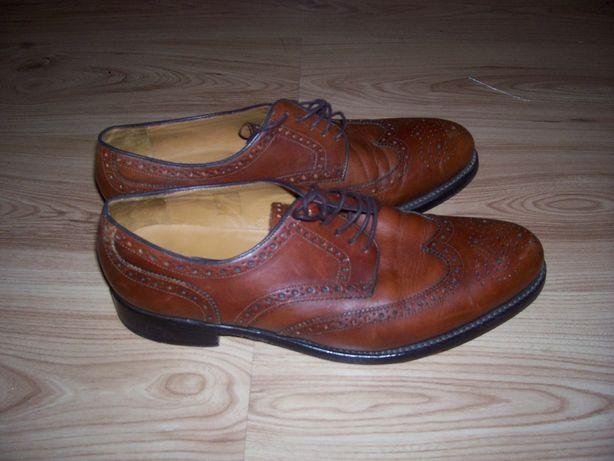 Buty skórzane męskie La. Lambertazzi buty garniturow Gordon and Bros
