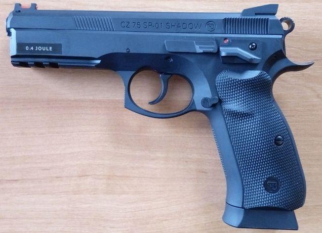 Страйкбольный пистолет CZ SP-01 SHADOW (Дания), страйкбол, тир. Новый!