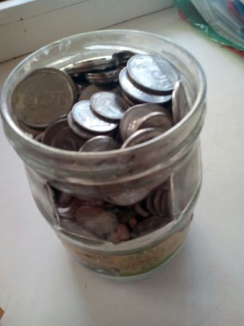 Монеты Украины 1,2,5 копеек.