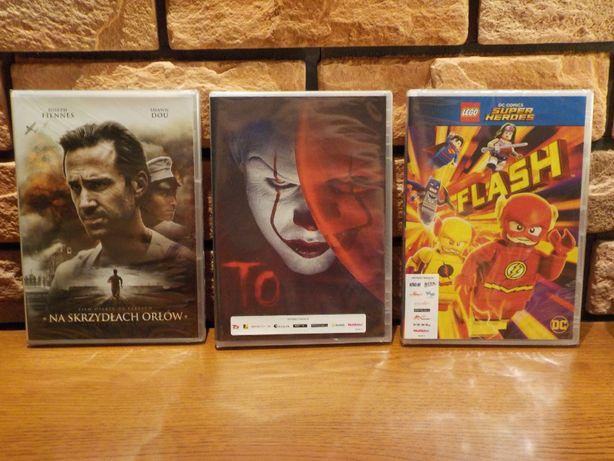 Zestaw 3 filmów DVD, nówka, folia!