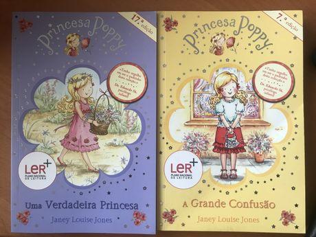 Princesa Poppy - 2 livros