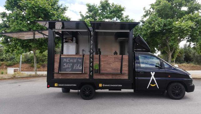 Food Truck / Roulote Bar / Street Food / Carrinha