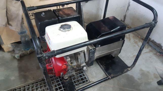 Sprzedam agregat prądotwórczy 7kVA Honda 3-fazowy