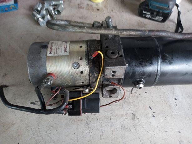 Pompa hydrauliczna 24V kiper 100%sprawna Niemiecka HASSELMAN