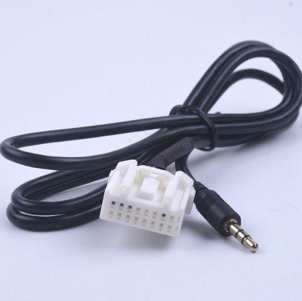 NOWY przewód przejściówka adapter AUX AUDIO kabel 3.5mm MAZDA męski
