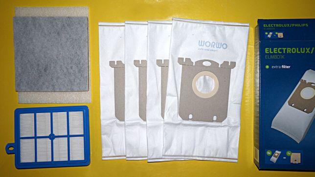 Комплект фильтров для пылесоса Philips FC9170 FC9174 и тд, Electrolux
