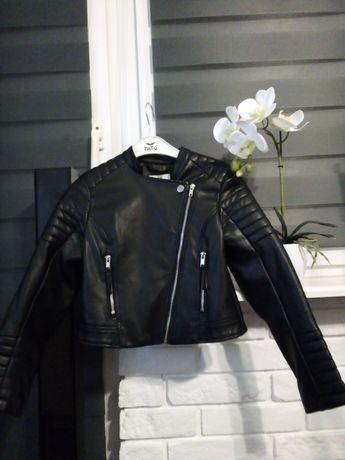 Ramoneska H&M z ekoskóry-jak nowa!