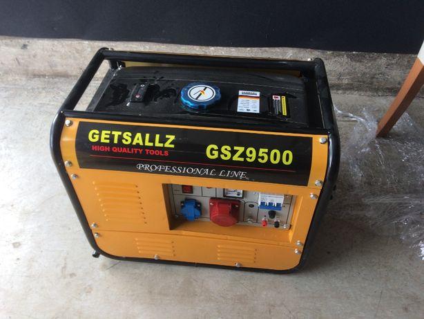 Agregat prądotwórczy gniazdo 230V i 380V w idealnym stanie nowy