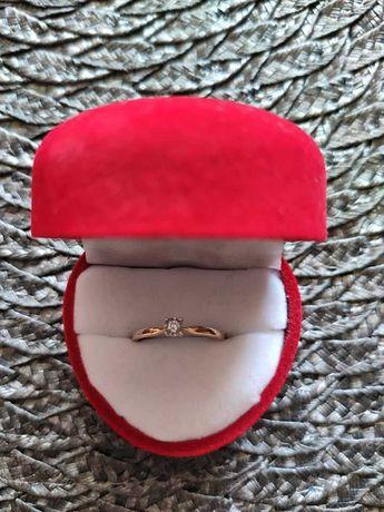Pierścionek zaręczynowy (złoto pr.585, 11)