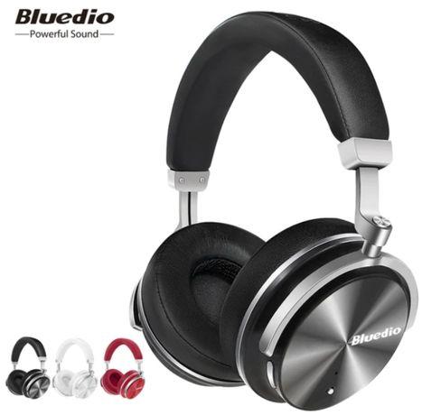 Original Bluedio T4 Turbine Headphone Bluetooth 4.2