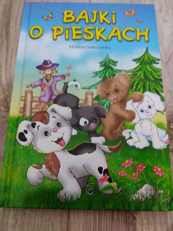 """Elżbieta Safarzyńska """"Bajki o pieskach"""" książka dla dzieci"""