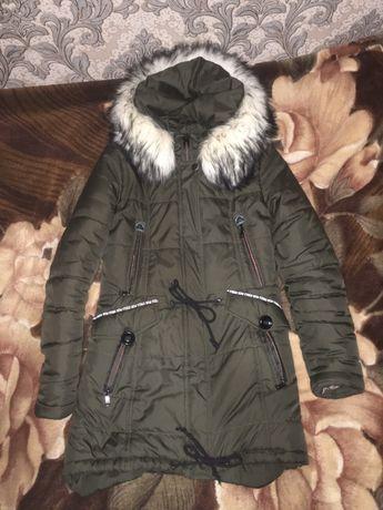 Зимняя куртка (удлиненный зад)