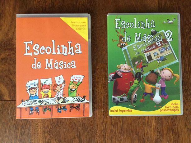 DVDs de Música: Escolinha de Música