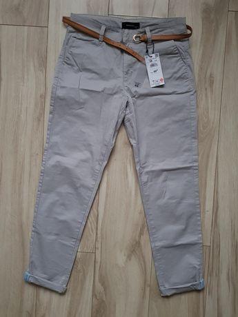 Spodnie typu chino z paskiem NOWE