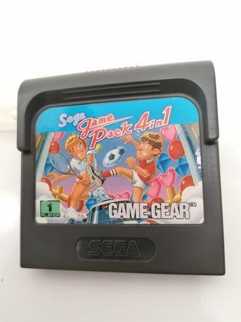 SEGA GAME GEAR Jogo pack 4 in 1