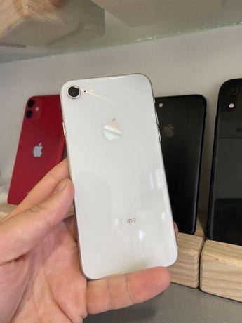 iPhone 8 256gb Silver Neverlock Відмінний стан