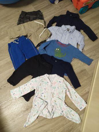 Одежда на 12-18 месяцев джинсы рубашки штаны свитер