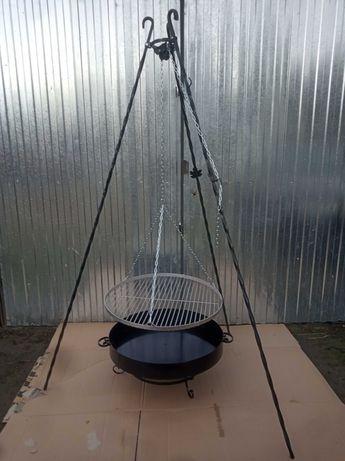 Grill trójnóg // ruszt nierdzewny