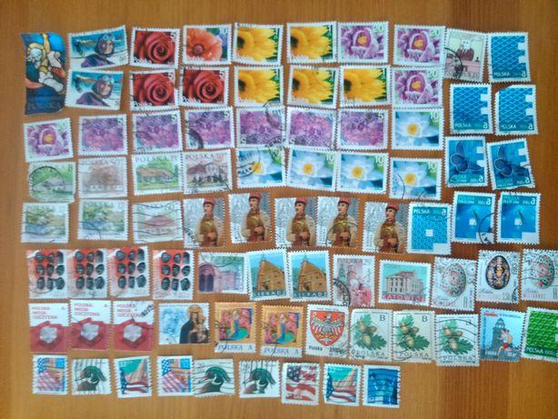Znaczki pocztowe PL, USA