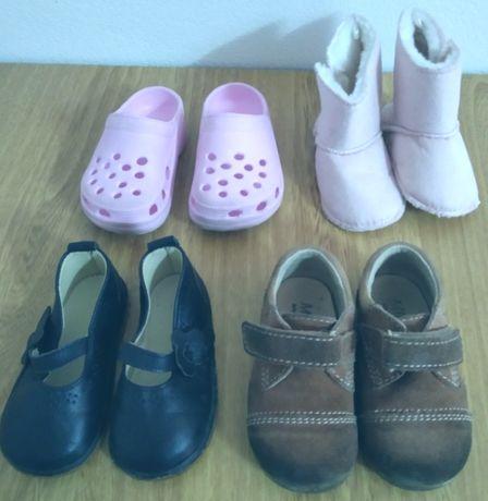4 Pares Sapatos Menina Tamanho 21