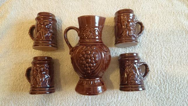 Ceramika brąz. Pamiątka PRL