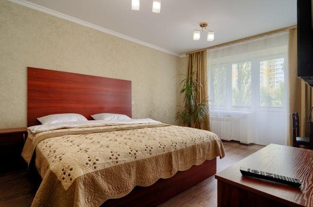 Однокомнатная квартира посуточно в Дарницком районе ул.Ялтинская,14