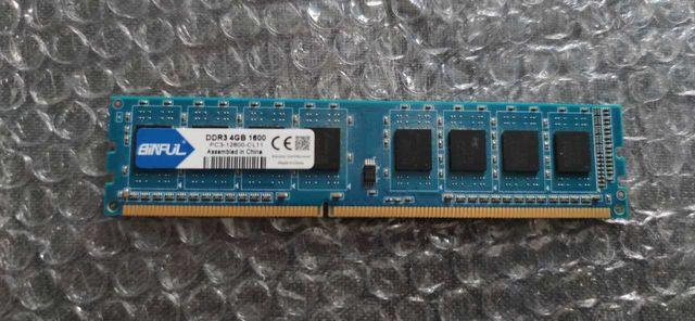 Оперативная память Binful DDR3 4 Гб 1600 МГц