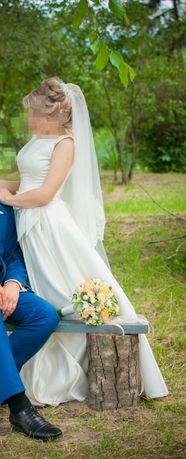 Свадебном платье