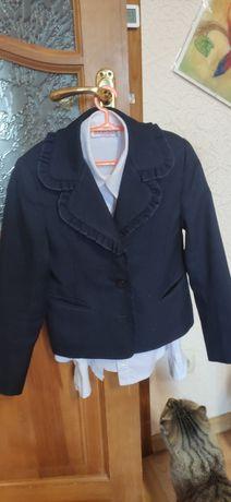 Школьная форма, пиджак,блузка,джинсы