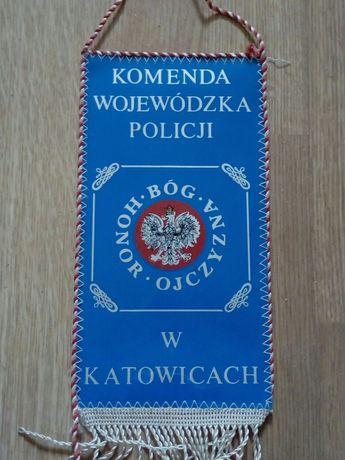 Policja Katowice proporczyk