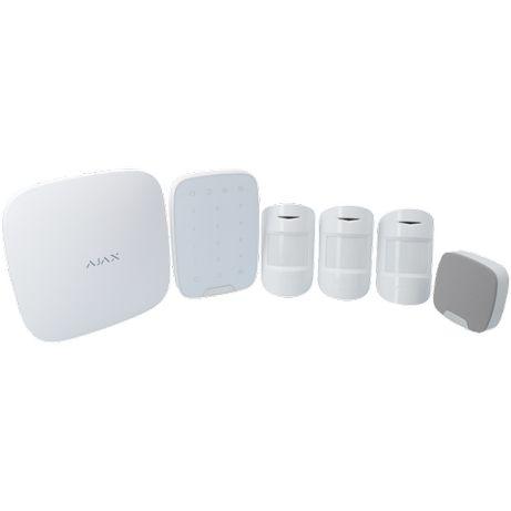 Alarme sem Fios, ligação à Internet e GSM,GPS,Bateria- Kit Loja 3 AJAX