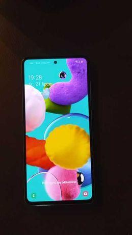 Telefon Samsung A51zablokowany.